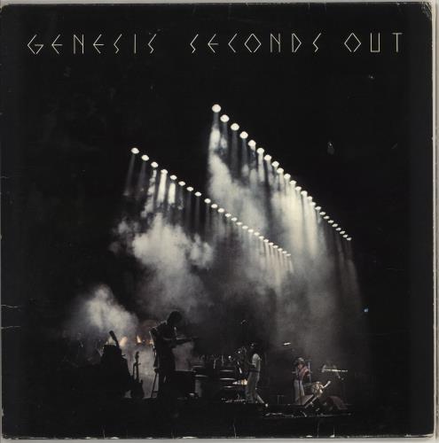 Genesis Seconds Out - EX 2-LP vinyl record set (Double Album) UK GEN2LSE582124