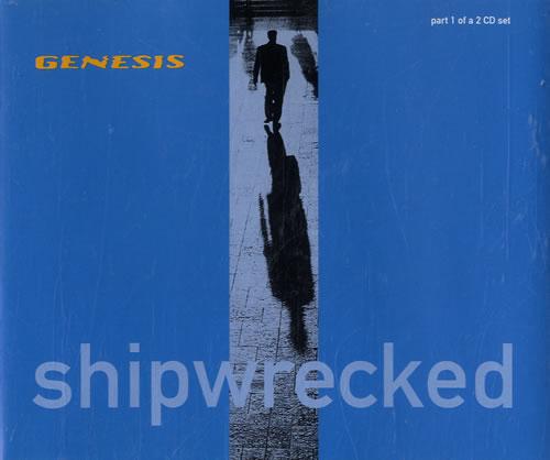 Genesis Shipwrecked UK 2-CD single set (Double CD single) (191640)