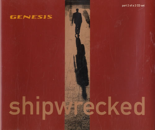 Genesis Shipwrecked UK 2-CD single set (Double CD single) (191640)