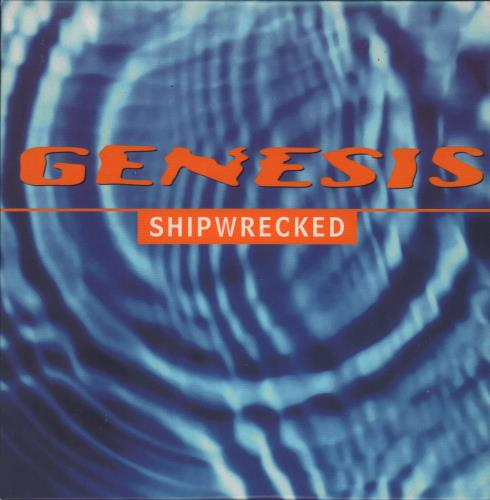 "Genesis Shipwrecked CD single (CD5 / 5"") UK GENC5SH96107"