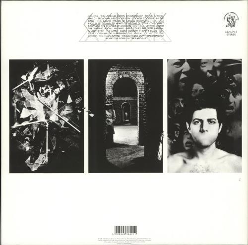 Genesis The Lamb - 180 Gram 2-LP vinyl record set (Double Album) UK GEN2LTH706108