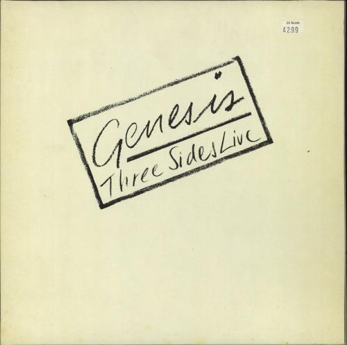 Genesis Three Sides Live 2-LP vinyl record set (Double Album) UK GEN2LTH171390