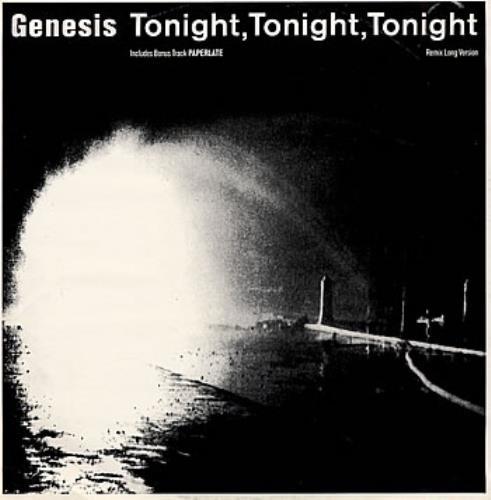 """Genesis Tonight Tonight Tonight 12"""" vinyl single (12 inch record / Maxi-single) UK GEN12TO105293"""