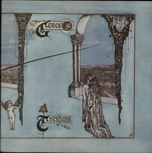 Genesis Trespass - 2nd - Smooth vinyl LP album (LP record) UK GENLPTR602627