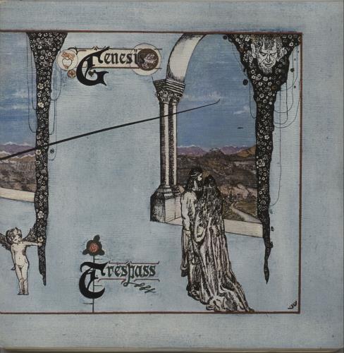 Genesis Trespass - 3rd + Insert vinyl LP album (LP record) UK GENLPTR672110