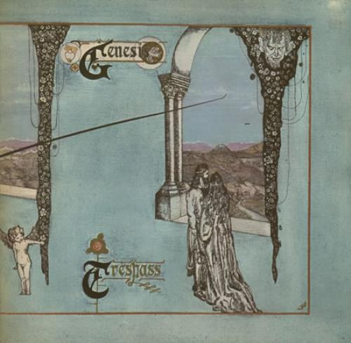 Genesis Trespass - 3rd vinyl LP album (LP record) UK GENLPTR312757
