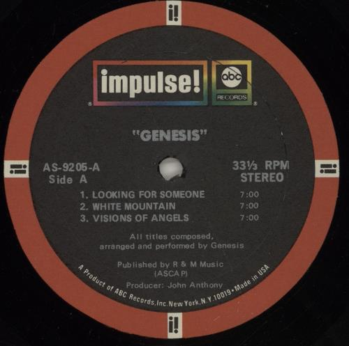 Genesis Trespass - ABC Impulse vinyl LP album (LP record) US GENLPTR399194