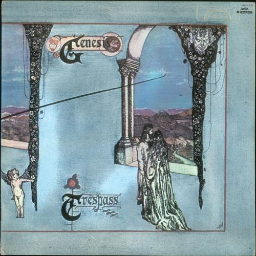 Genesis Trespass Us Vinyl Lp Album Lp Record 531483