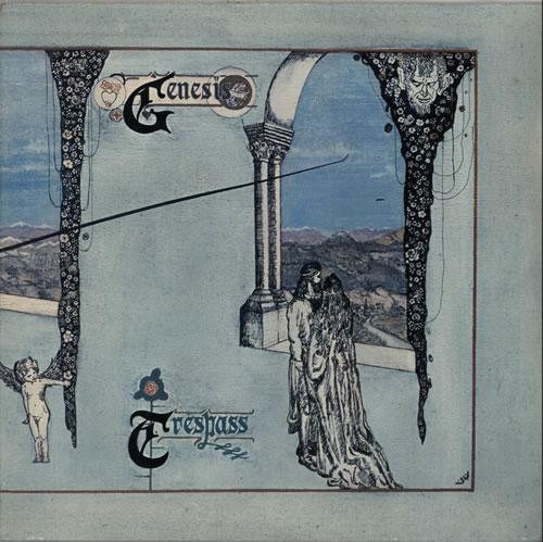 Genesis Trespass vinyl LP album (LP record) German GENLPTR582121