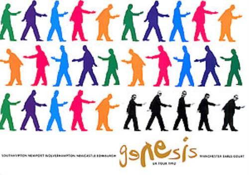 Genesis We Can't Dance tour programme UK GENTRWE161582
