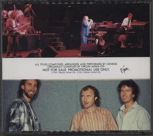 Genesis We Know What We Like - The Best Of Genesis 2 CD album set (Double CD) Japanese GEN2CWE111294