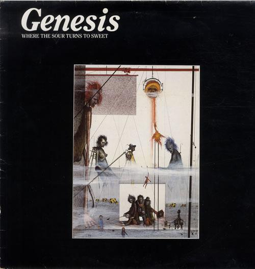 Genesis Where The Sour Turns To Sweet vinyl LP album (LP record) UK GENLPWH263250