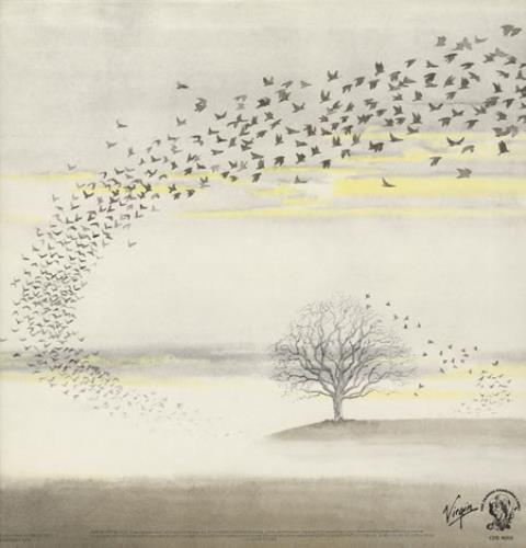 Genesis Wind & Wuthering - Blue Label vinyl LP album (LP record) UK GENLPWI254291