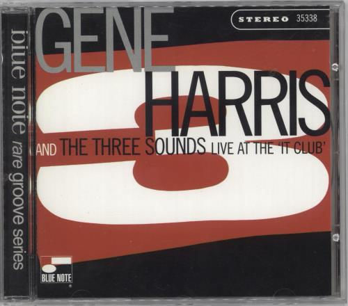 Gene Harris Live At The 'It Club' CD album (CDLP) US GEHCDLI712220