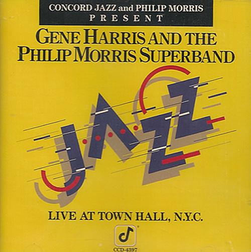 Gene Harris Live At Town Hall, NYC CD album (CDLP) German GEHCDLI487929