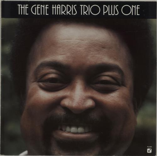 Gene Harris The Gene Harris Trio Plus One vinyl LP album (LP record) German GEHLPTH686180