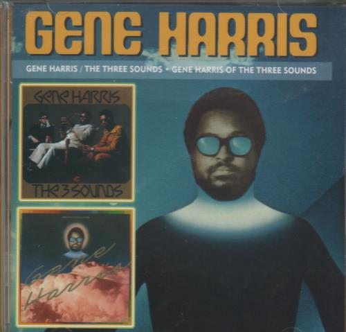 Gene Harris The Three Sounds / Gene Harris Of The Three Sounds CD album (CDLP) US GEHCDTH670597
