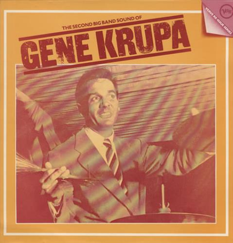 Gene Krupa The Second Big Band Sound Of Gene Krupa vinyl LP album (LP record) UK GEKLPTH363120