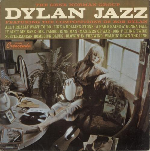 Gene Norman Dylan Jazz vinyl LP album (LP record) UK QJYLPDY696898
