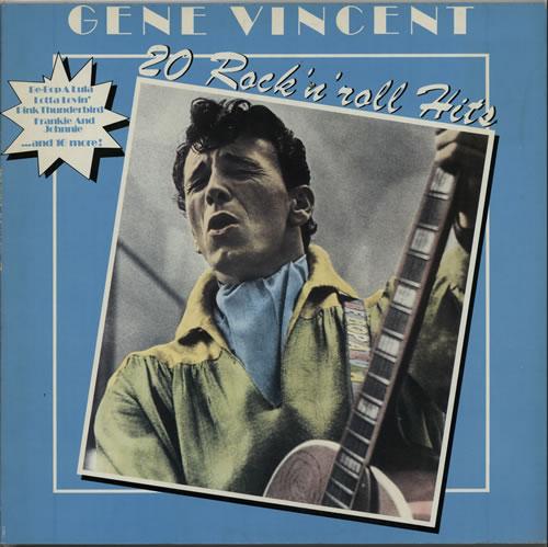 Gene Vincent 20 Rock 'n' Roll Hits vinyl LP album (LP record) UK GNVLPRO627331