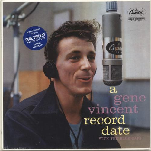Gene Vincent A Gene Vincent Record Date - Sealed vinyl LP album (LP record) US GNVLPAG691898