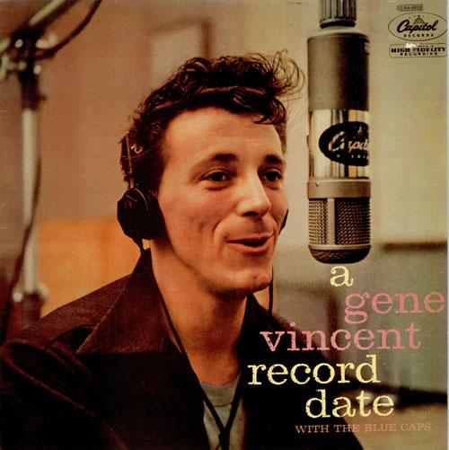 Gene Vincent A Gene Vincent Record Date vinyl LP album (LP record) French GNVLPAG487433