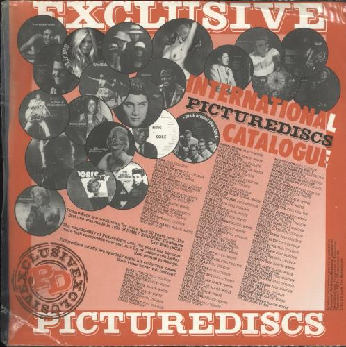 Gene Vincent ABC Of Rock picture disc LP (vinyl picture disc album) Danish GNVPDAB706530