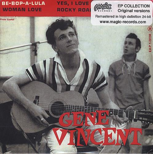 "Gene Vincent Be-Bop-A-Lula CD single (CD5 / 5"") French GNVC5BE390662"