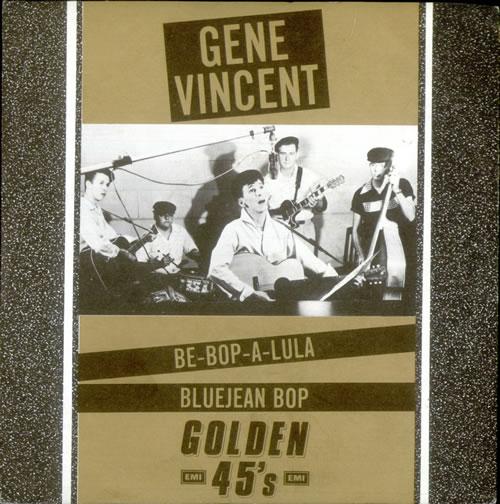 "Gene Vincent Be-Bop-A-Lula 7"" vinyl single (7 inch record) UK GNV07BE521131"