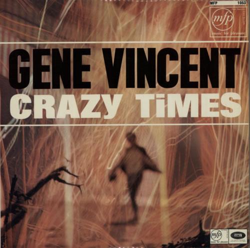 Gene Vincent Crazy Times vinyl LP album (LP record) UK GNVLPCR595334