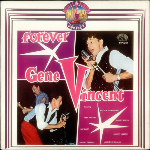 Gene Vincent Forever vinyl LP album (LP record) Italian GNVLPFO545147