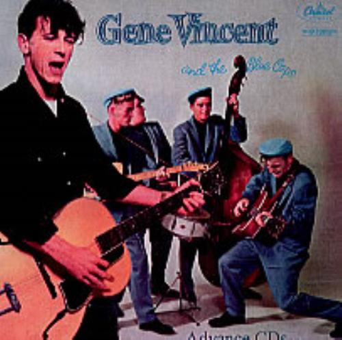 Gene Vincent Gene Vincent & His Blue Caps/Bluejean Bop CD-R acetate US GNVCRGE224294
