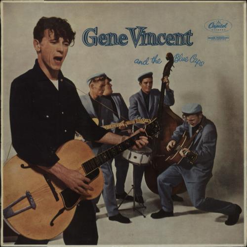 Gene Vincent Gene Vincent And The Blue Caps - 1st vinyl LP album (LP record) UK GNVLPGE662110