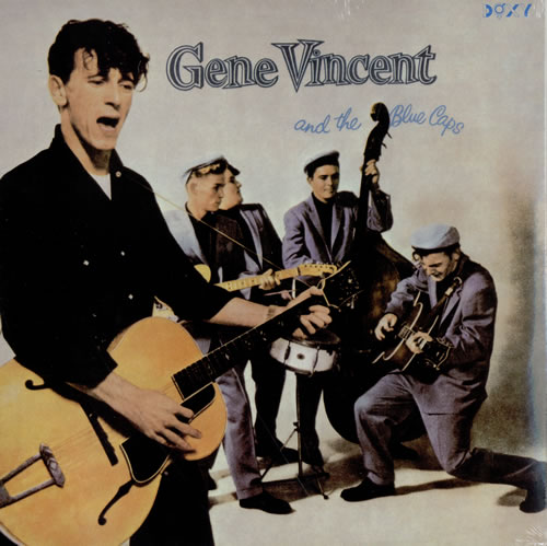 Gene Vincent Gene Vincent And The Blue Caps vinyl LP album (LP record) UK GNVLPGE463735