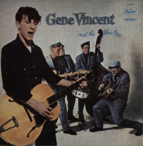 Gene Vincent Gene Vincent And The Blue Caps vinyl LP album (LP record) French GNVLPGE612738