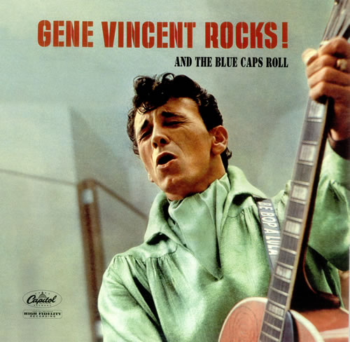 Gene Vincent Gene Vincent Rocks! - 180gm vinyl LP album (LP record) US GNVLPGE453101