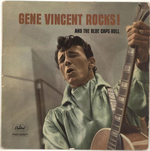 Gene Vincent Gene Vincent Rocks! - 1st - VG vinyl LP album (LP record) US GNVLPGE696877
