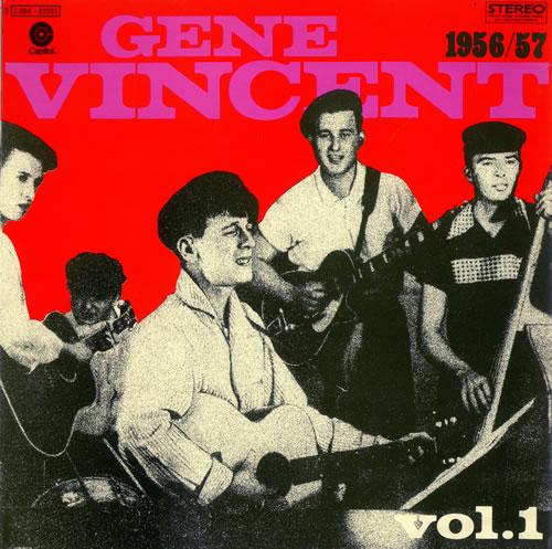 Gene Vincent Gene Vincent Story Vol. 1 [1956/57] vinyl LP album (LP record) French GNVLPGE487431