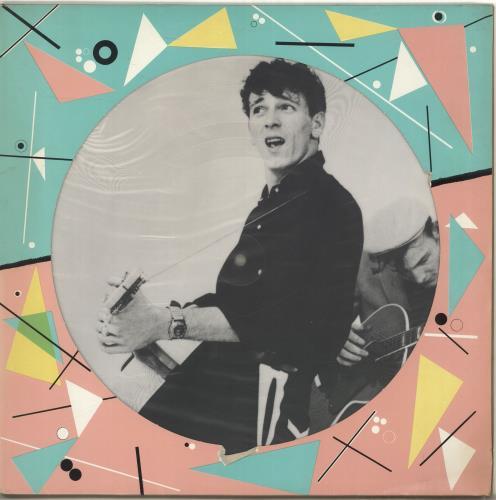 Gene Vincent Gene Vincent picture disc LP (vinyl picture disc album) Danish GNVPDGE610521