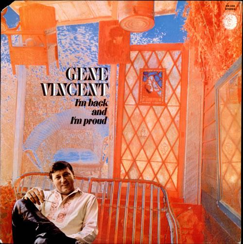 Gene Vincent I'm Back And I'm Proud vinyl LP album (LP record) US GNVLPIM527901