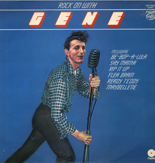 Gene Vincent Rock On With Gene vinyl LP album (LP record) UK GNVLPRO558208