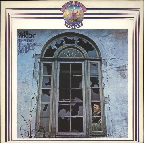 Gene Vincent The Day The World Turned Blue vinyl LP album (LP record) Italian GNVLPTH719036