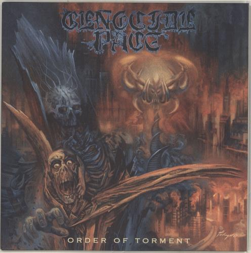 Genocide Pact Order of Torment vinyl LP album (LP record) US QMULPOR715836