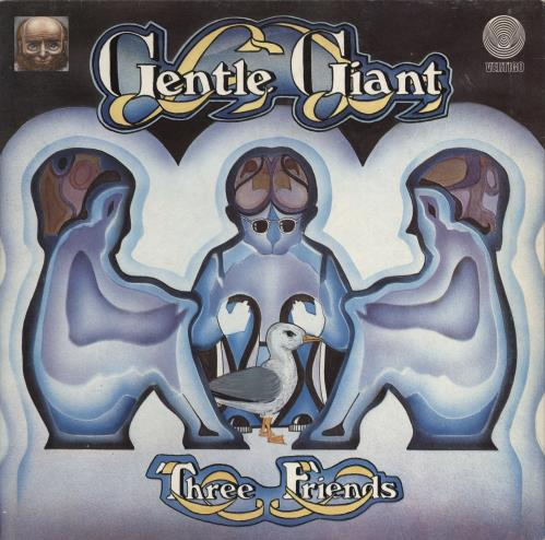 Gentle Giant Three Friends - 1st - EX vinyl LP album (LP record) UK GTLLPTH715124