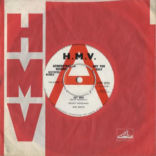 "Geoff Goddard Sky Men 7"" vinyl single (7 inch record) UK GG907SK472656"