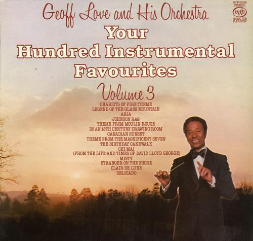 Geoff Love Your Hundred Instrumental Favourites - Volume 3 vinyl LP album (LP record) UK GL0LPYO563342