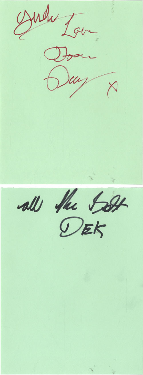 Geordie Pages From An Autograph Book memorabilia UK GDIMMPA603449
