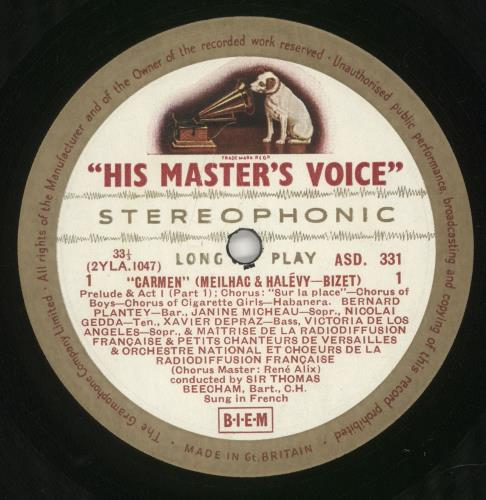 Georges Bizet Bizet: Carmen Vinyl Box Set UK BZTVXBI747319