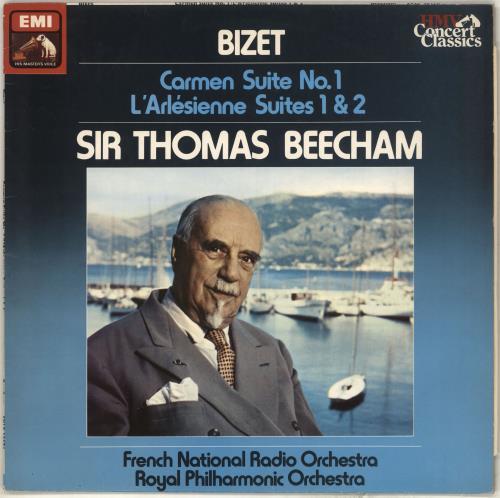 Georges Bizet Carmen Suite No. 1 / L'Arlésienne Suites 1 & 2 vinyl LP album (LP record) UK BZTLPCA713868