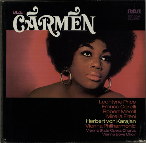 Georges Bizet Carmen Vinyl Box Set UK BZTVXCA639654